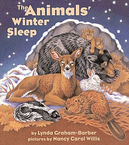 The Animals' Winter Sleep book cover spread